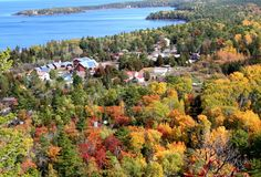 Beautiful Copper Harbor Stock Images