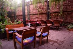 Beautiful corner in coffee shop. Beautiful corner in coffee shop, Thailand stock images
