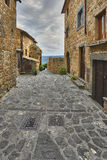 Beautiful corners and streets,  Civita di Bagnoregio Stock Image