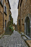 Beautiful corners and streets,  Civita di Bagnoregio Stock Photography
