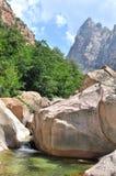 Beautiful Corsica Landscape Royalty Free Stock Photos