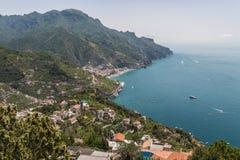 The beautiful Costiera Amalfitana Stock Images