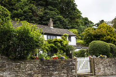 Beautiful Cottage in the small village of Pott Shrigley, Cheshire, England. Stock Photo