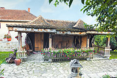 Beautiful cottage in a winery resort Royalty Free Stock Images