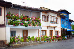 Beautiful cottages in Northern Spain Royalty Free Stock Photography