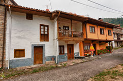 Beautiful cottages in Northern Spain Royalty Free Stock Images
