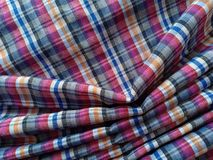 Beautiful cotton fabric backgroud. Cotton fabric textured background beautiful backgroud fabric-background linen silk thai-silk thai-fabrics  colours closeup royalty free stock images