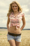 Beautiful country girl Royalty Free Stock Image