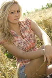 Beautiful country girl Stock Photos