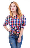 Beautiful Country Girl Royalty Free Stock Photos