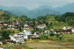 Beautiful country of GuiZhou Stock Photography