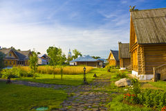 Beautiful country house Stock Photo