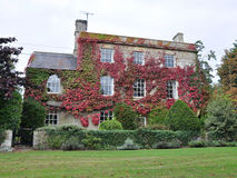 Beautiful Country House and Garden Royalty Free Stock Image