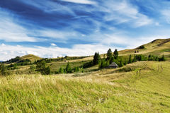 Beautiful Country Landscape.Dramatic Sky and Hills Royalty Free Stock Images