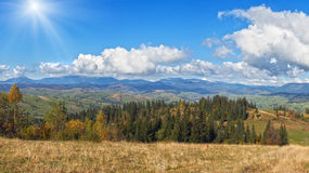 Beautiful country morning Royalty Free Stock Images