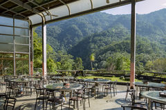 The beautiful Country side restaurant. Of Wulai district, Taiwan Stock Photo