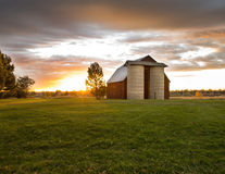 Beautiful Country Sunrise Royalty Free Stock Photography