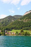 The beautiful countryside around Lake Wolfgang Royalty Free Stock Photography