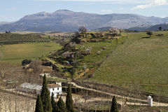 Beautiful countryside around Ronda Stock Photos