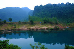 Beautiful countryside of Quang Binh, VietNam Royalty Free Stock Images