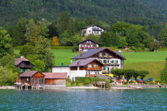 The beautiful countryside of St. Wolfgang Royalty Free Stock Images