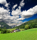 The beautiful countryside of St. Wolfgang Stock Photography