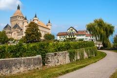 Beautiful countryside in Switzerland Royalty Free Stock Photo
