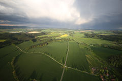 Beautiful countryside. Very nice view of the countryside Stock Photography