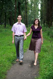 Beautiful couple Stock Images