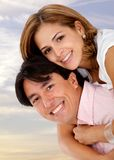 Beautiful couple Stock Image