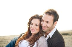 Beautiful couple Stock Photos