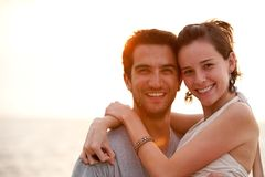 Beautiful couple Royalty Free Stock Photo