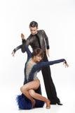 Beautiful couple dancing Royalty Free Stock Photos