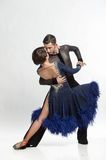 Beautiful couple dancing Royalty Free Stock Images