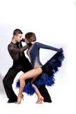Beautiful couple dancing Royalty Free Stock Image