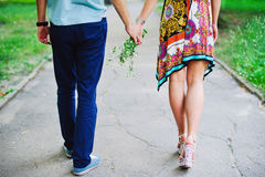 Beautiful couple dating Royalty Free Stock Photography