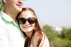 Beautiful Couple Hugging Stock Image