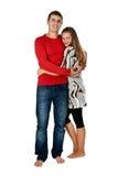 Beautiful couple hugging Royalty Free Stock Photography