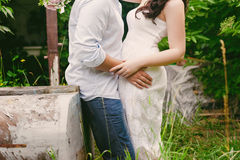 Beautiful couple hugging, lifestyle, leisure, youth, love Royalty Free Stock Image