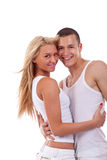 Beautiful couple in love Royalty Free Stock Photo