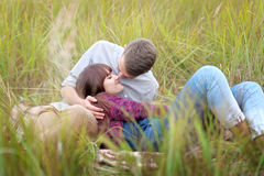 Beautiful Couple in love Stock Photos