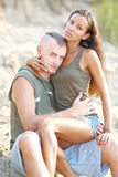 Beautiful Couple in love Stock Photos