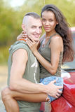 Beautiful Couple in love Royalty Free Stock Image
