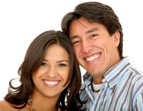 Beautiful couple portrait Royalty Free Stock Photo