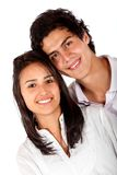 Beautiful couple portrait Stock Image
