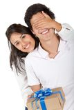 Beautiful couple portrait Stock Photography
