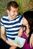 Beautiful couple portrait Stock Photo