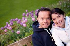 Beautiful couple portrait Royalty Free Stock Image