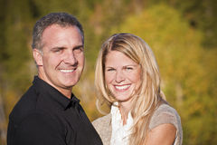 Beautiful Couple Portrait Stock Images