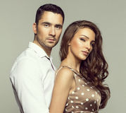 Beautiful couple Stock Image